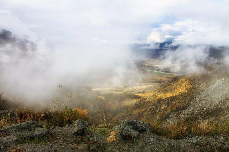 алтай, горный алтай, горы, сибирь, чике-таман Небо в гости к нам спустилосьphoto preview