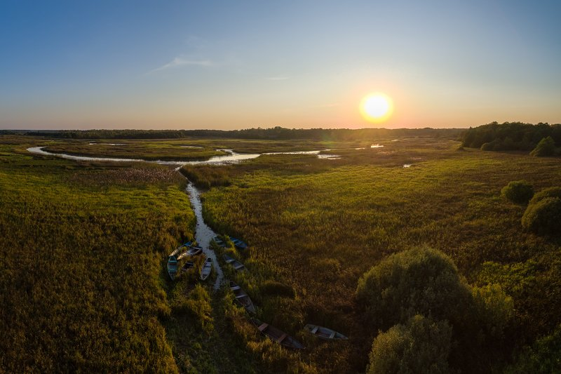 закат, лето, пейзаж Закатphoto preview