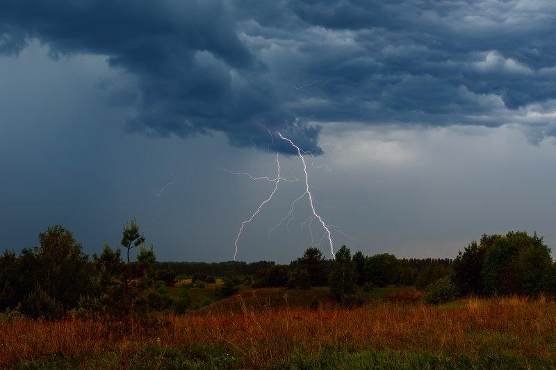 гроза, молния, пейзаж Грозаphoto preview