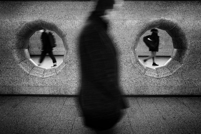 windows, metro, way, people, street, urban the Ghosts of Undergroundphoto preview