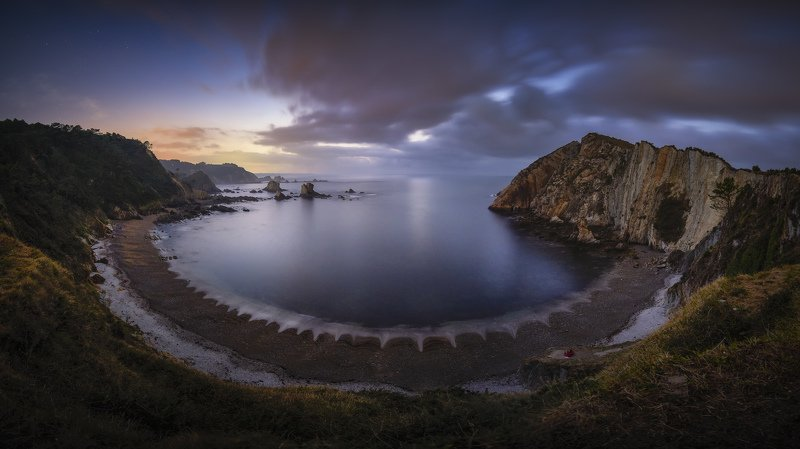 Beach, Landscape, Nature, Spain, Beautiful, Travel, Panoramic, Colors Silence Beachphoto preview