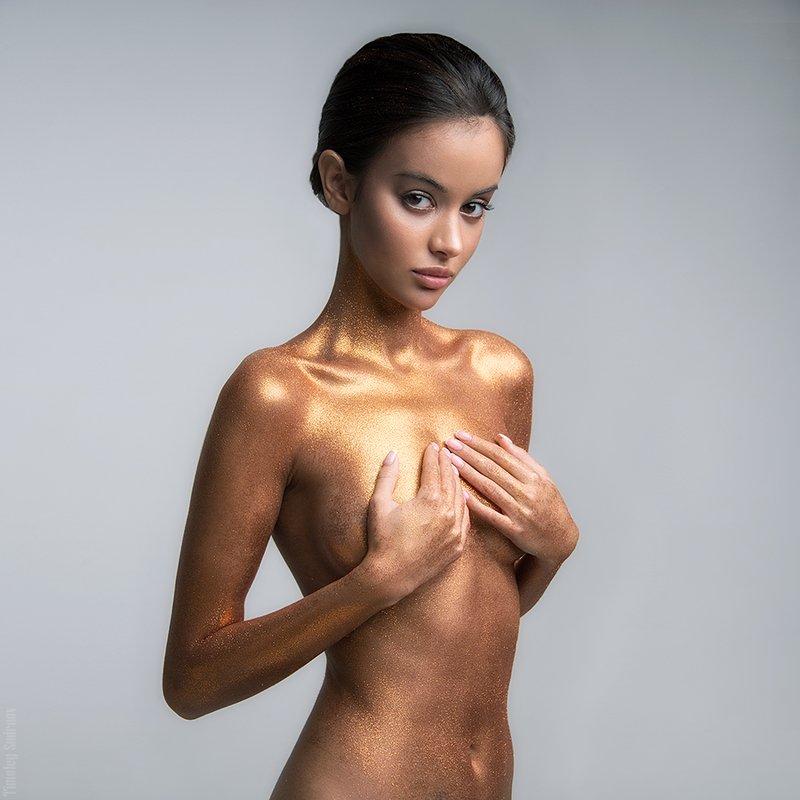 девушка, girl, портрет, portrait, милая, cute, блестки, sparkles Leraphoto preview