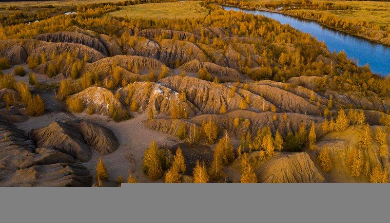 Кондуки. Тульская область. Вид сверху.photo preview