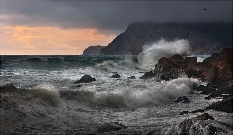 море, крым, шторм, инжир, ай-я Штормит на Ай-я IIIphoto preview