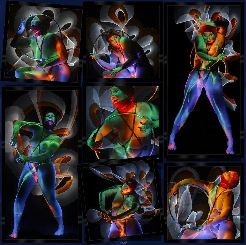 светографика, свет, портрет, сюжет, жанр, обруч, представление С обручемphoto preview