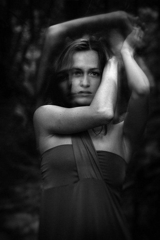 портрет, лес ***photo preview