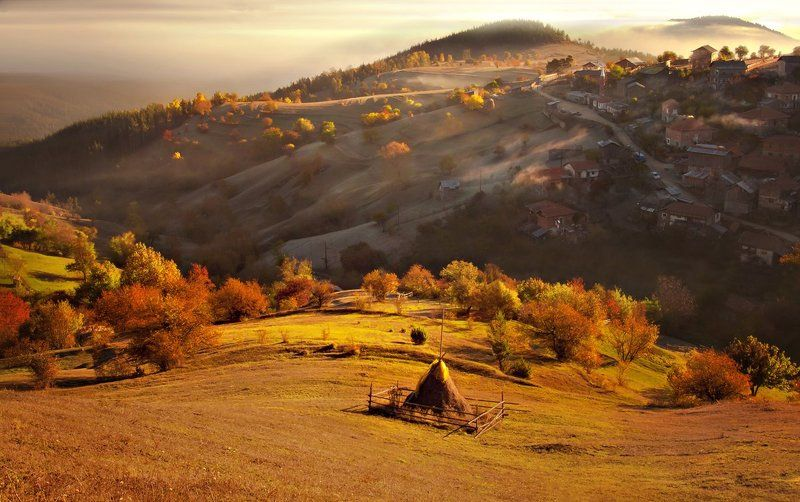 rhodope, sunrise, mountain villages, bulgaria Lost in Paradisephoto preview