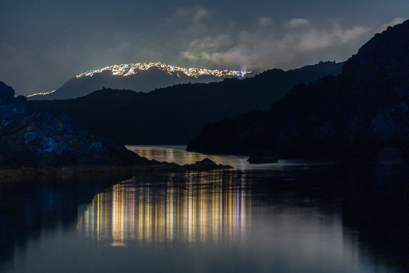 santorini,night,thira,church,nightscapes Thira Lightsphoto preview