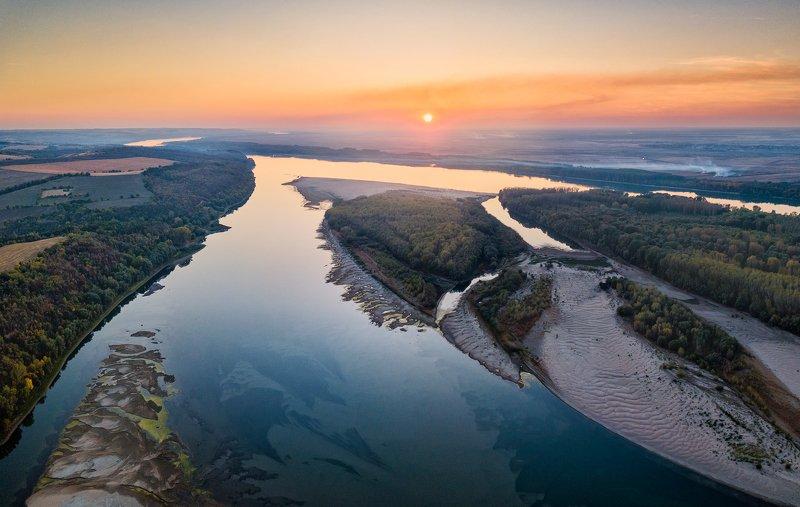 Закат на Дунаеphoto preview
