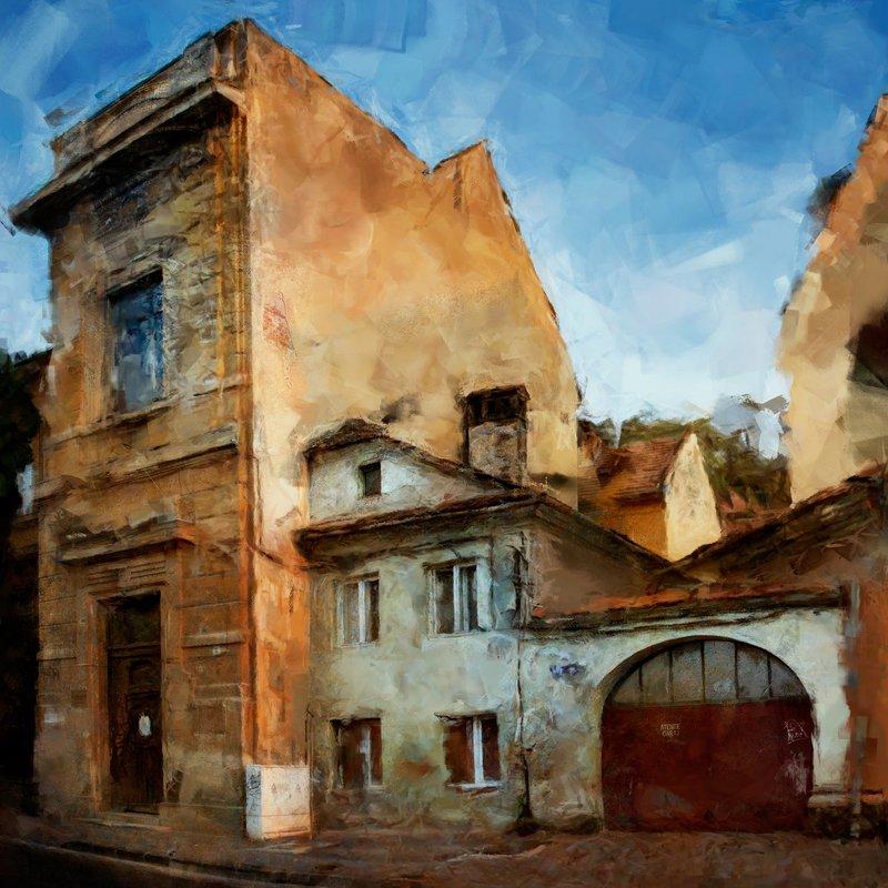 romania, румыния, брашов, город, архитектура, арт, компьютерная графика. цифровое искусство Romania. Brasovphoto preview