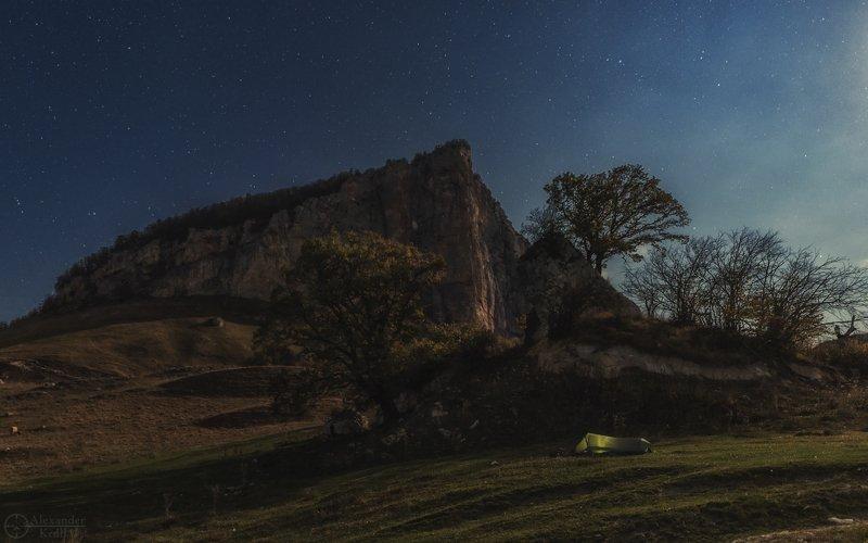 Лунной ночью у Ахмет-горы...photo preview