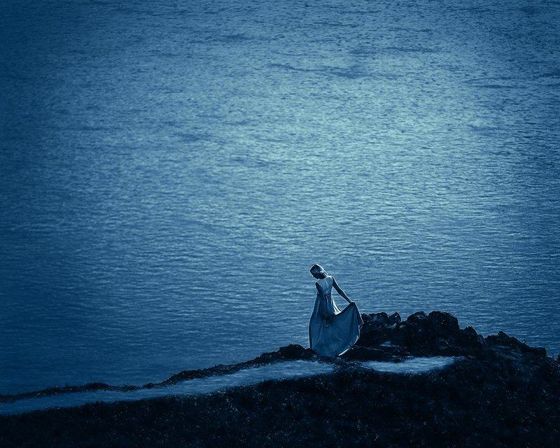 Девушка и Море.photo preview