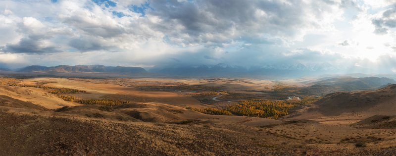 горный алтай, северочуйский хребет, курайская степь photo preview