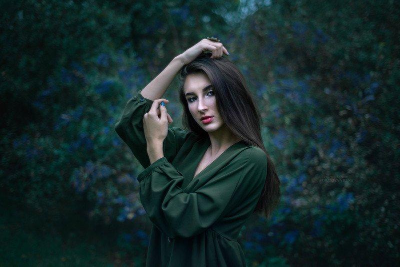 девушка, сказка, лето, волшебство, фото, арт, осень photo preview