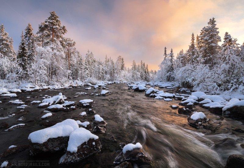 кольский, кольский полуостров, зима, winter, snow, north Октябрь на Кольскомphoto preview