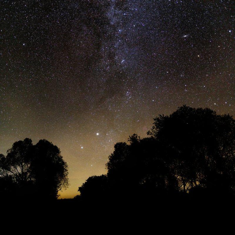 пейзаж, млечный путь Бриллиантовые дорогиphoto preview