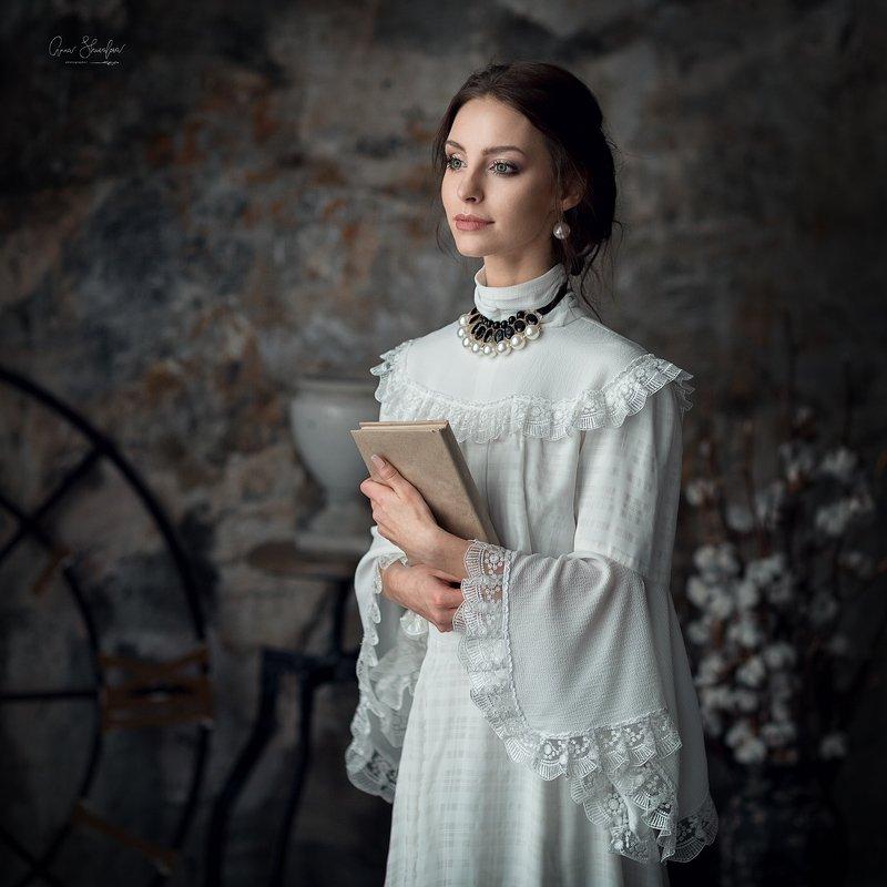 портрет красота девушка арт Анастасияphoto preview