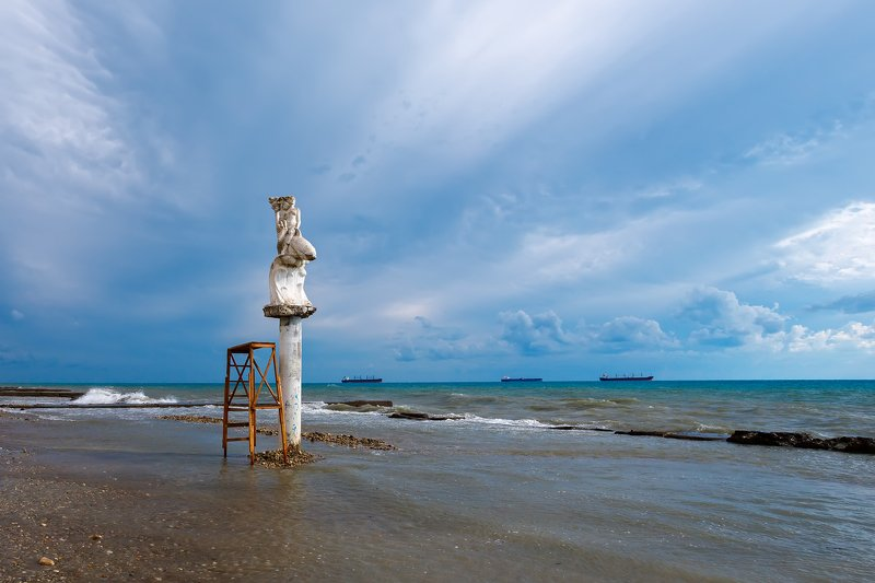пейзаж, море Знакомство с моремphoto preview
