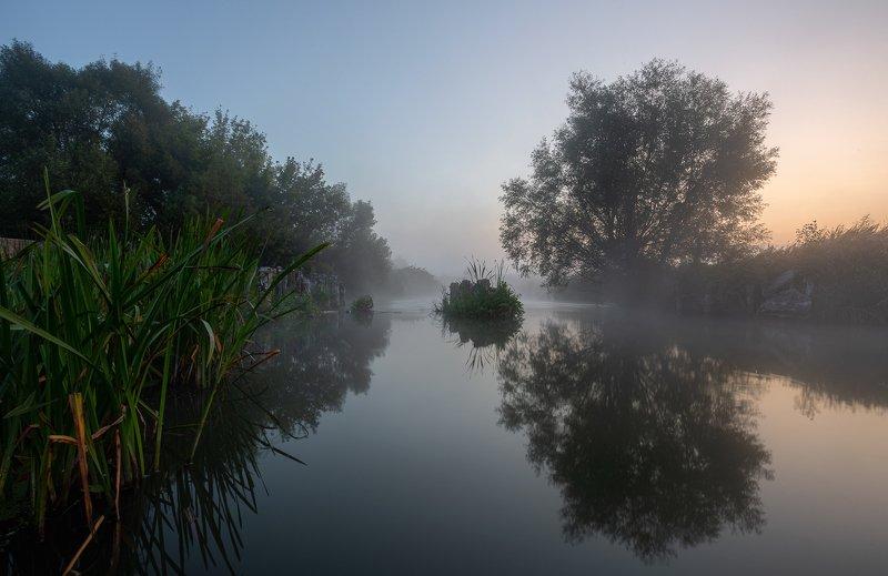 Безветренное утро на Цнеphoto preview