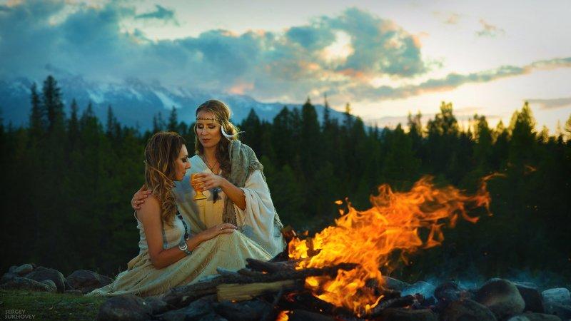 алтай, курай, курайская степь, ак-тру, актру, ведьмы, ведьма, инициация, шаман, шаманка, зелье, колдунья, обряд, таинство ***photo preview