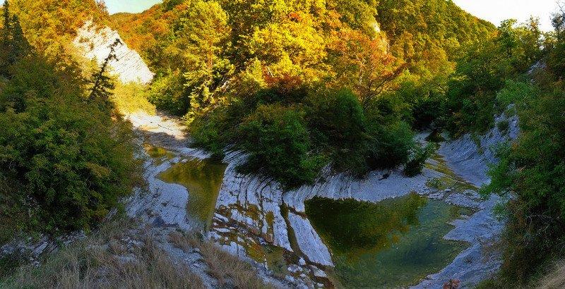 горы, скалы, лес, река, природа, пейзаж, осень Осень приближается... (Плесецкая щель)photo preview