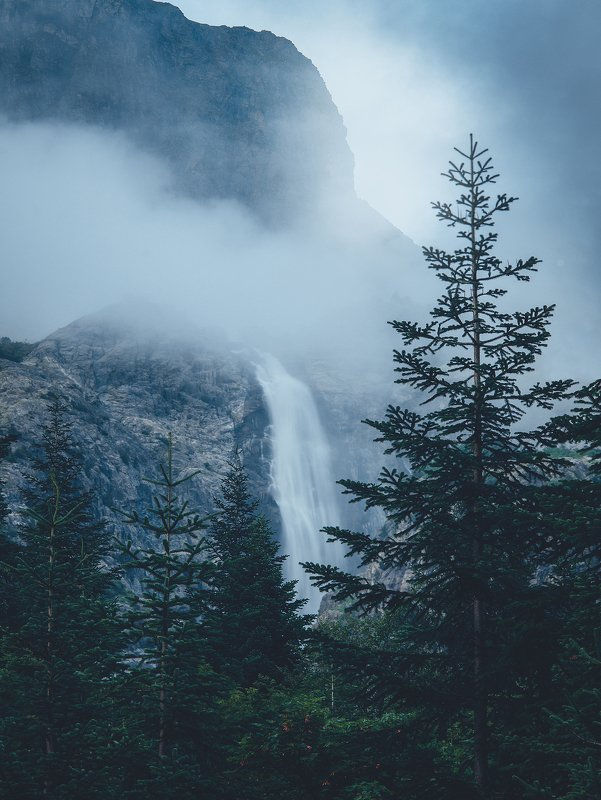 сванетия, мазери, водопад ушбы, водопад мазери, ушба, грузия Водопад Ушбыphoto preview