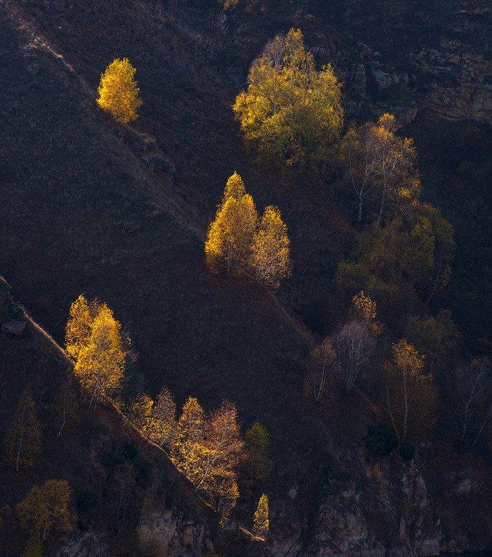осень, кабардино-балкария Осенний этюдphoto preview
