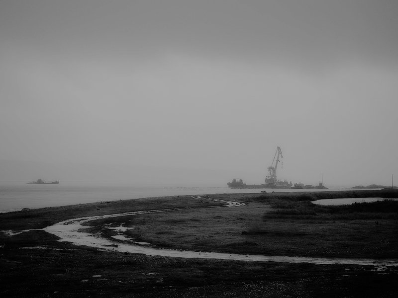 Ангара. Дождливо.photo preview