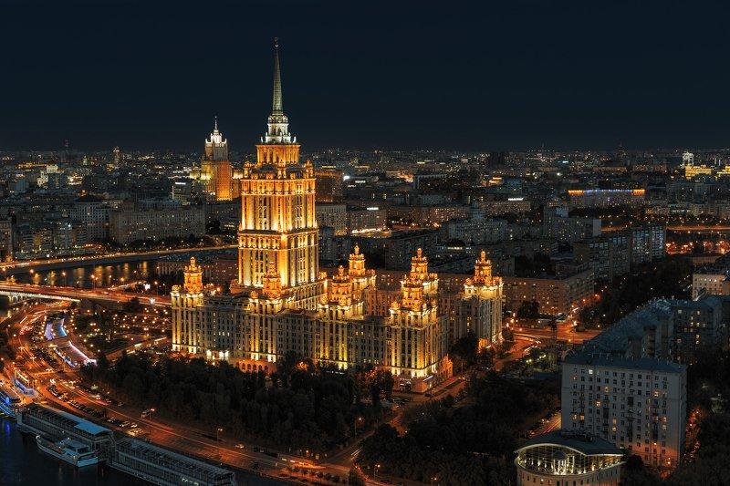 гостиница, отель, украина, рэдиссон, ночь, пейзаж, архитектура, hotel, ukraine, radisson, night, landscape, architecture, Гостиница \