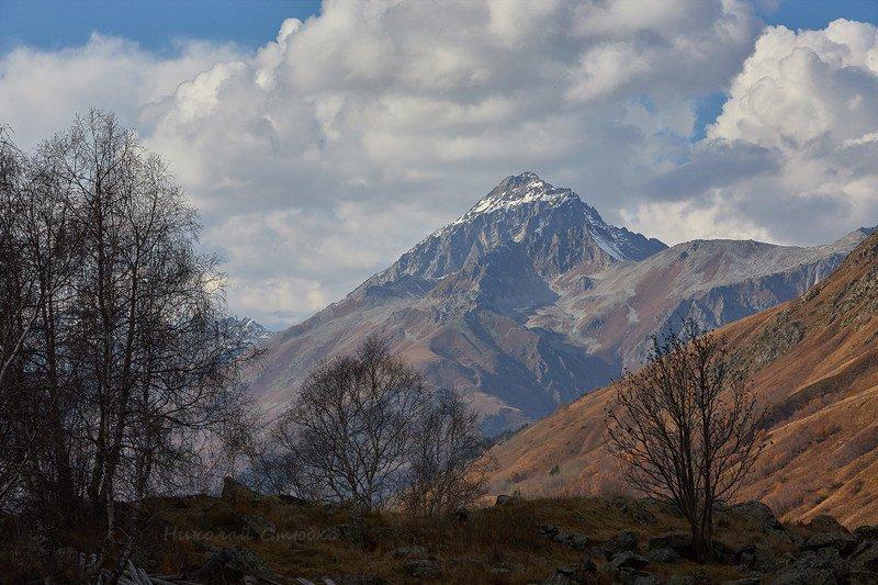 кавказ горы осень вечер семёнов-баши Семёнов-Башиphoto preview