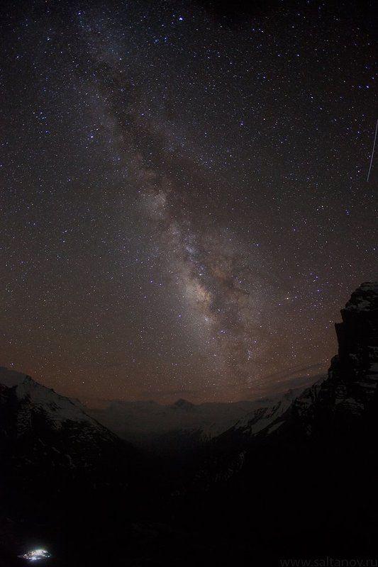 nepal, himalaya, stars, milkyway, night landscape, непал, гималаи, звёзды, ночное небо, ночной пейзаж Milky Way under Himalaya.photo preview