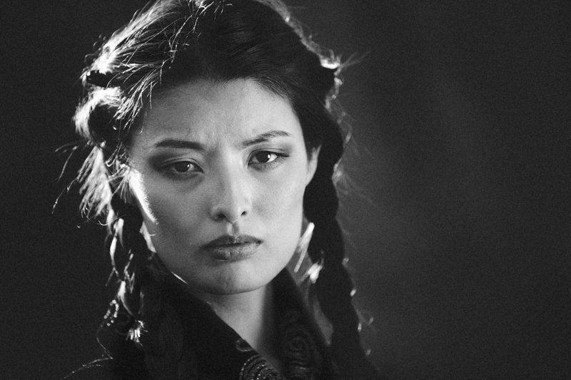 портрет, девушка, казахстан, казашка, фото Казашкаphoto preview