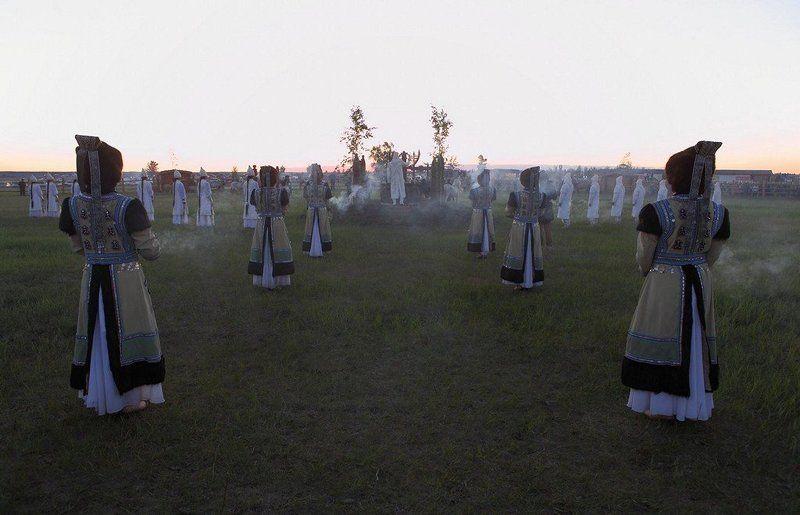 якутия, ысыах ЫСЫАХ праздник встречи Солнца в Якутииphoto preview