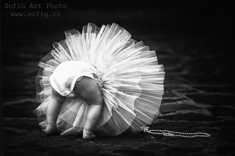 ballet, ballerina, tanec, dance, sofig, girl, kids, children ...photo preview