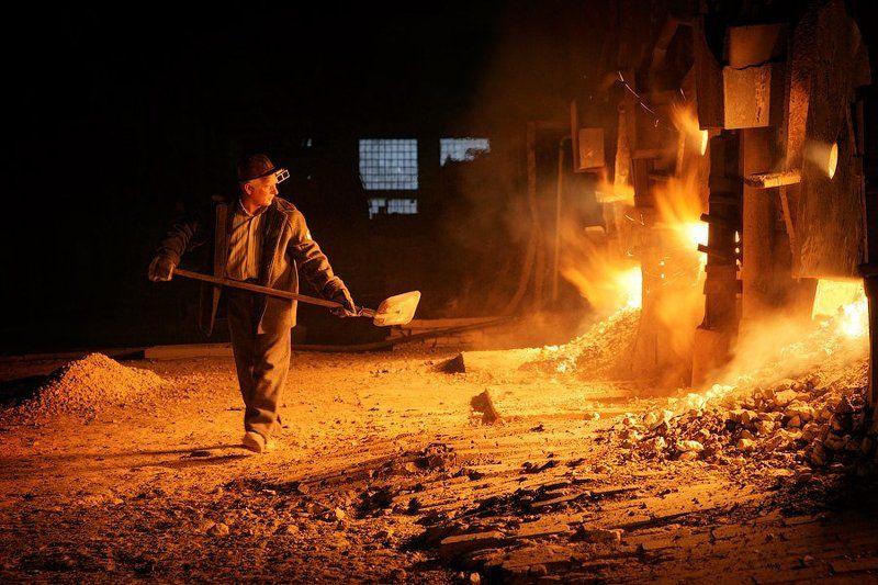 сталь, чугун, сталевар, завод Сталеварыphoto preview