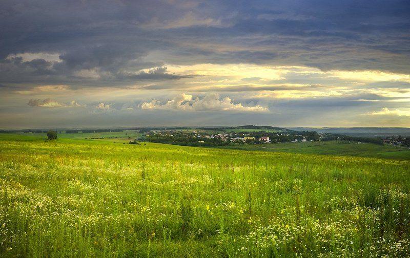 пейзаж, природа На высоком берегу Оки, или о том, как может пригодиться камера в багажнике.photo preview