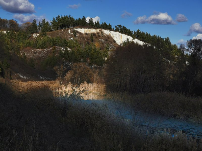 Меловые горы Приоскольяphoto preview