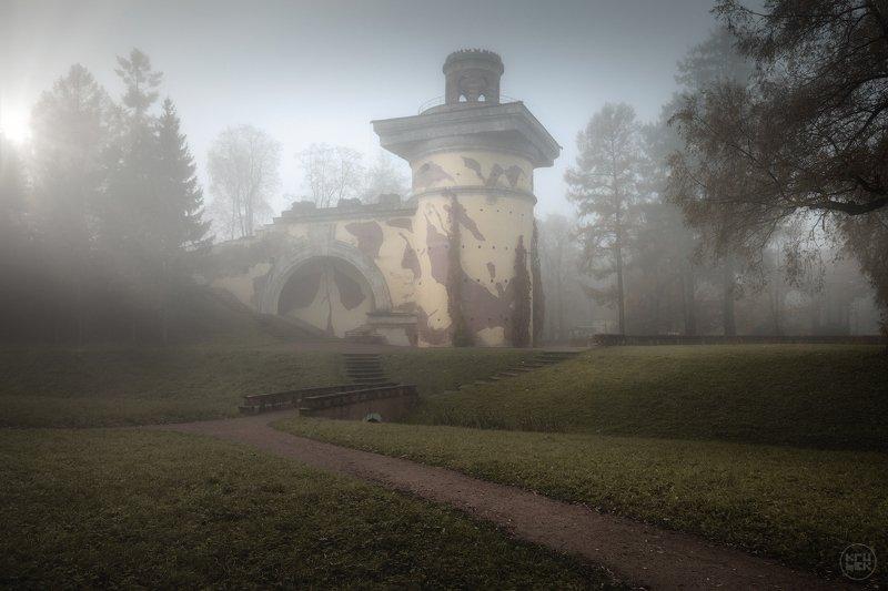 пушкин, туман, октябрь, осень Настроение октябряphoto preview