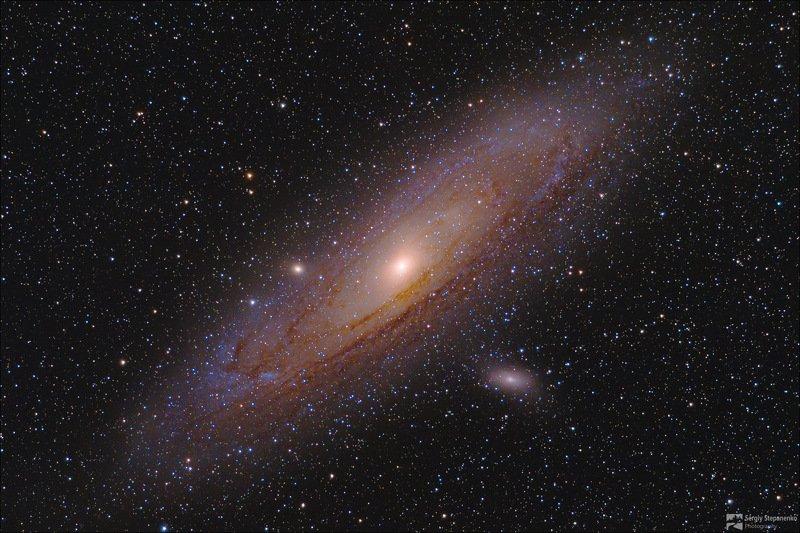 Галактика Андромедыphoto preview