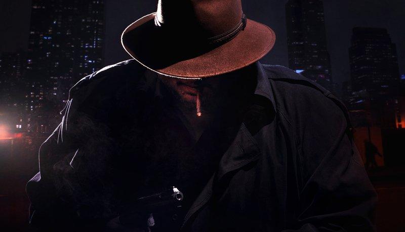 арт ночная съемка детектив мафия портрет нуар Детективная историяphoto preview