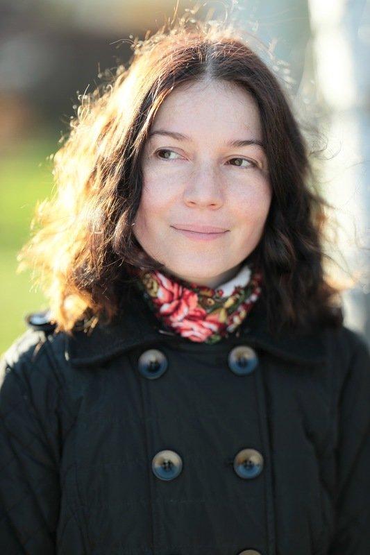портрет, осень Осенний портретphoto preview