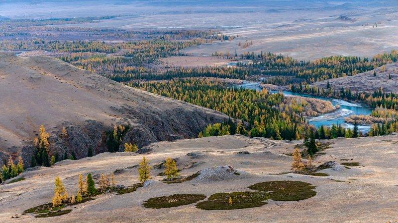 горы, алтай, горный алтай, пейзаж, природа, россия, ник васильев, красота, осень, река, чуя, Чуйские зигзагиphoto preview