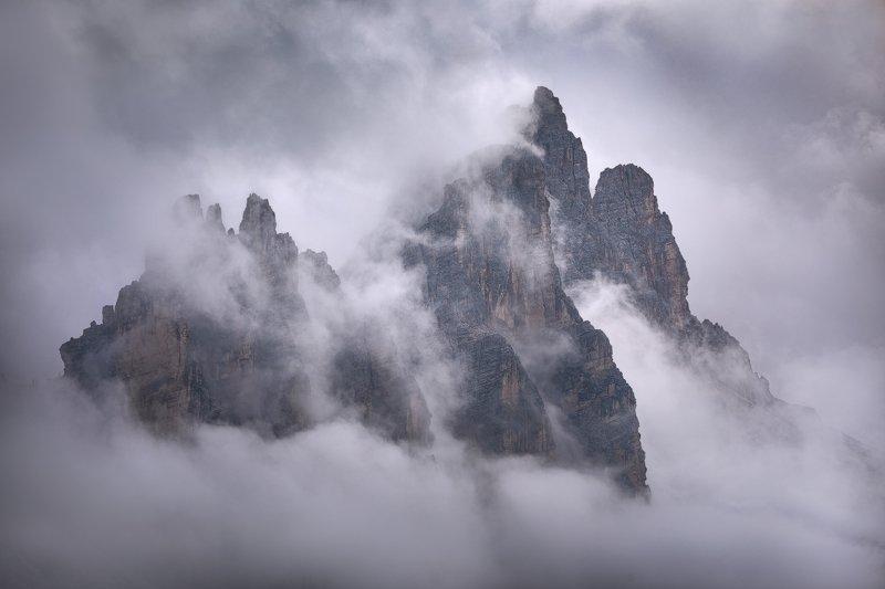 Mist in Dolomitesphoto preview