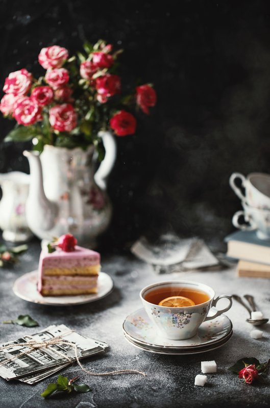 чай, напитки, натюрморт Чайная композицияphoto preview