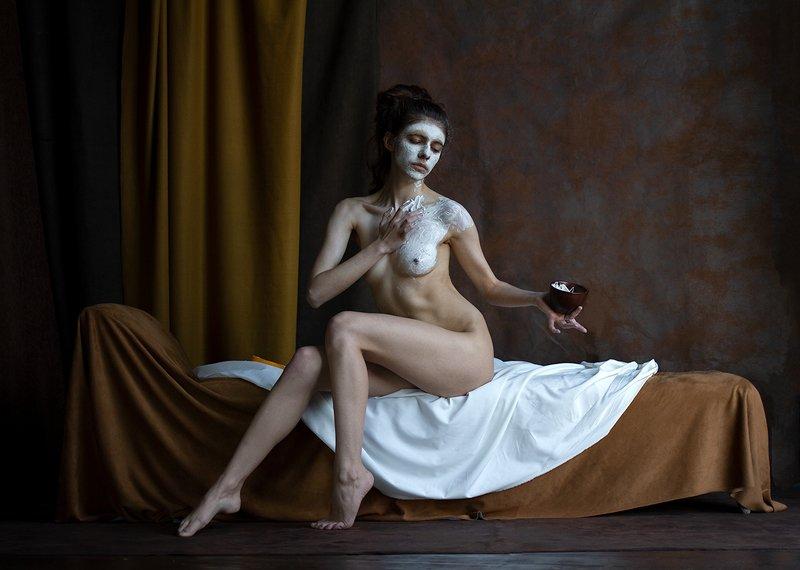 fine art nudes Ноктюрн с привкусом горячего шоколада.photo preview
