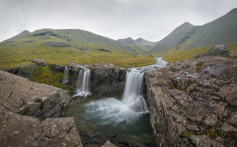 исландия, водопад, iceland, waterfall, foss Про водопадphoto preview