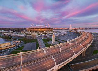 Стадион Газпром Арена, ЗСД