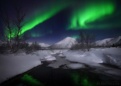 Ноябрь в Хибинах