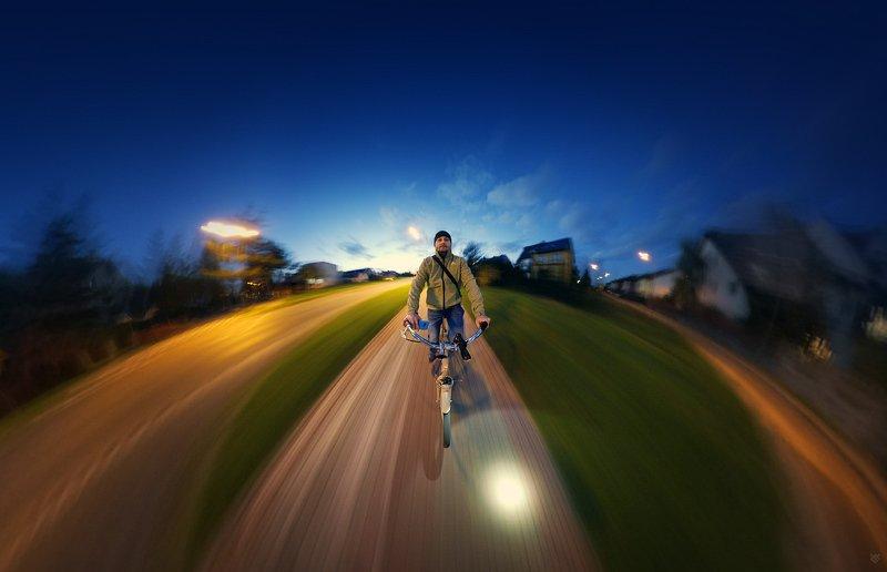 selfportrait, bike, insta360 Cyclistphoto preview