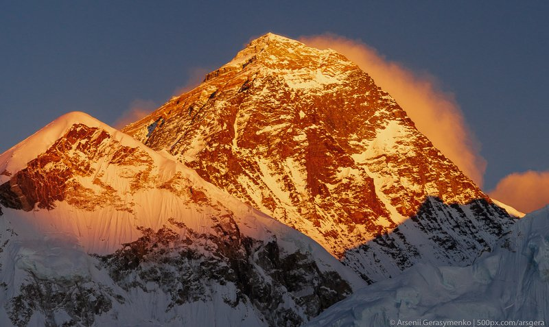 sunset, snow, climbing, panorama, ice, landscape, dawn, peak, summit, snow, everest, nepal, mountain, outdoors, himalaya, himalayas, nature, extreme, mt. everest, lhotse, sagarmatha, nuptse, mountaneering , tourism, trekking, alpinism, altitude, hiking, h Everest summit at dawnphoto preview